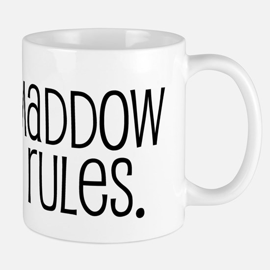 Maddow Rules. Mug