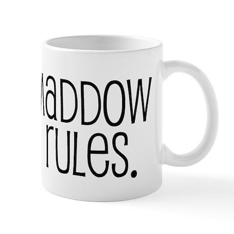 Maddow Rules. Mug