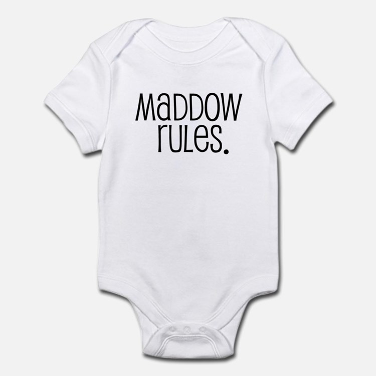 Maddow Rules. Infant Bodysuit