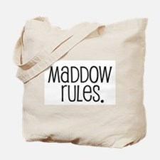 Maddow Rules. Tote Bag