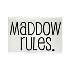 Maddow Rules. Rectangle Magnet