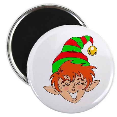 Smiling Elf Face Magnet