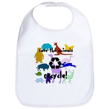 Save the Animals: Recycle! Bib