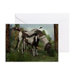 Painted Horse and Foal Greeting Cards (Pk of 20)