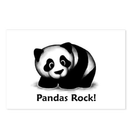 Pandas Rock! Postcards (Package of 8)