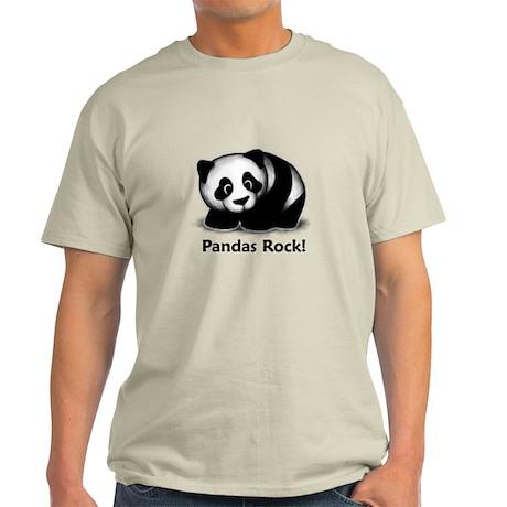 Pandas Rock! Light T-Shirt