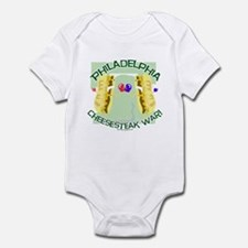 Philly Cheesesteak War Infant Bodysuit