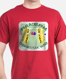Philly Cheesesteak War T-Shirt