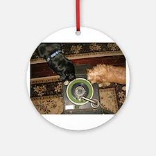vinyl hounds Ornament (Round)