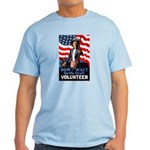 Don't Wait to Volunteer Light T-Shirt