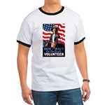 Don't Wait to Volunteer (Front) Ringer T