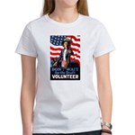 Don't Wait to Volunteer (Front) Women's T-Shirt