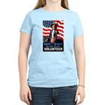 Don't Wait to Volunteer (Front) Women's Light T-Sh