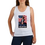 Don't Wait to Volunteer (Front) Women's Tank Top