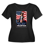 Don't Wait to Volunteer (Front) Women's Plus Size