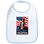 Don't Wait to Volunteer Bib