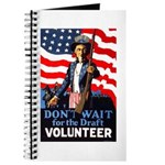 Don't Wait to Volunteer Journal