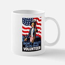 Don't Wait to Volunteer Mug