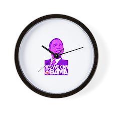 Obama biden 2008 Wall Clock