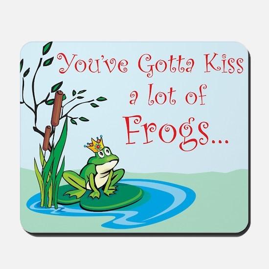 Frog Prince items Mousepad