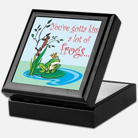 Frog Prince items Keepsake Box