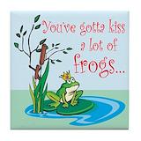 Frog prince Drink Coasters