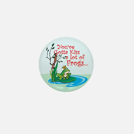 Frog Prince items Mini Button