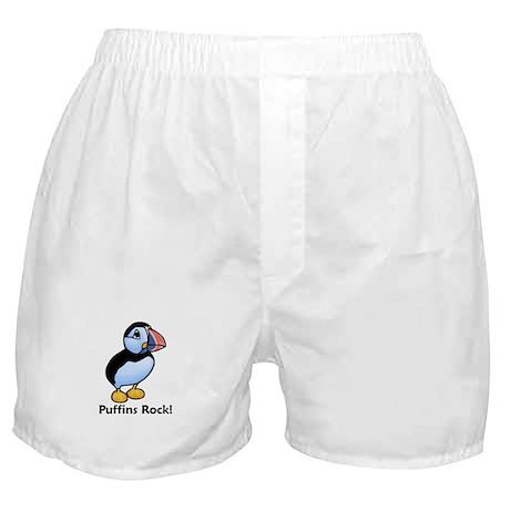 Puffins Rock! Boxer Shorts