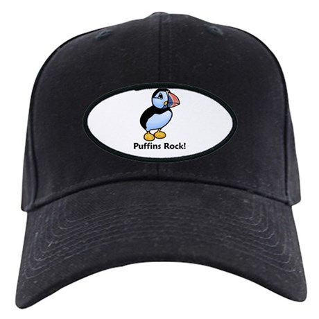 Puffins Rock! Black Cap