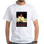 VA Veterans Administration Nurses White T-Shirt