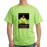 VA Veterans Administration Nurses Green T-Shirt