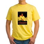 VA Veterans Administration Nurses Yellow T-Shirt