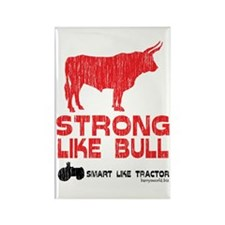 Strong Like Bull! Rectangle Magnet (10 pack)