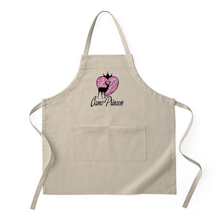 Camo Princess BBQ Apron