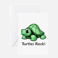 Turtles Rock! Greeting Card