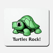 Turtles Rock! Mousepad