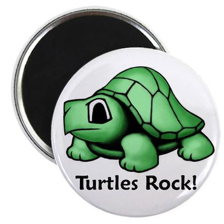 "Turtles Rock! 2.25"" Magnet (10 pack)"
