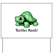 Turtles Rock! Yard Sign