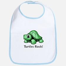 Turtles Rock! Bib