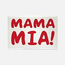 Mama mia Rectangle Magnet