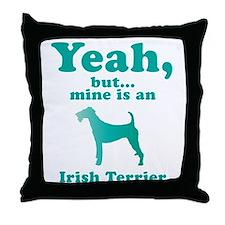 Irish Terrier Throw Pillow