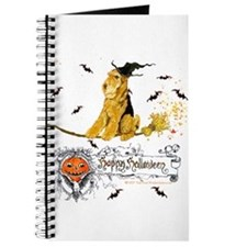 Halloween Airedale Terrier Journal