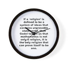 Funny Anti jews for jesus Wall Clock