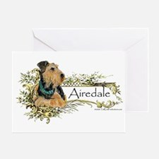 Airedale Pride Greeting Card