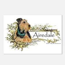 Airedale Pride Postcards (Package of 8)