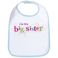 i'm the big sister shirt scatter Bib