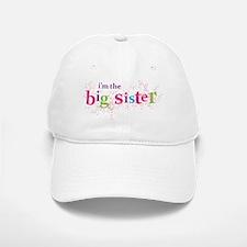 i'm the big sister shirt scatter Baseball Baseball Cap