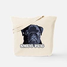 Smug Pug! Tote Bag