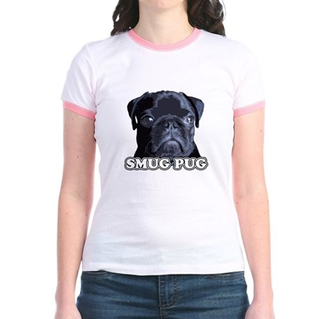 Smug Pug! Jr. Ringer T-Shirt