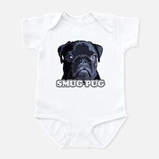 Smug Pug! Infant Bodysuit